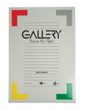 Gallery schetsblok, ft 29,7 x 42 cm (A3), 180 g/m², blok van 50 vel