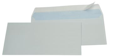 Gallery enveloppen ft 114 x 229 mm, stripsluiting, doos van 500 stuks