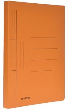 Class'ex hechtmap, ft 25 x 32 cm (voor ft A4), oranje
