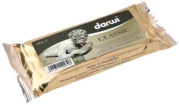 Darwi boetseerpasta Classic, pak van 500 g, wit