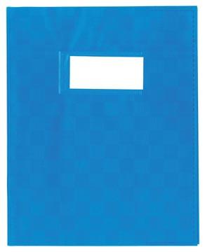 schriftomslag 23 x 30 cm, blauw