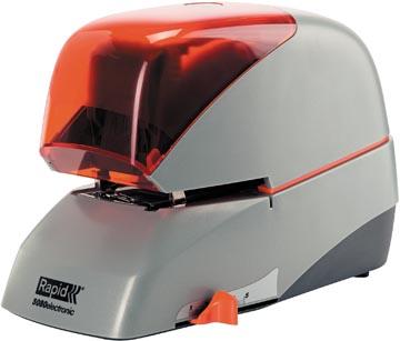 Rapid elektrische nietmachine 5080E, zilver/oranje