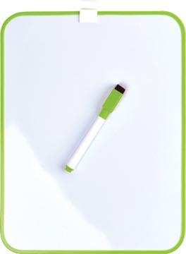 Desq Magnetisch witbord, ft 21,5 x 28 cm, groen