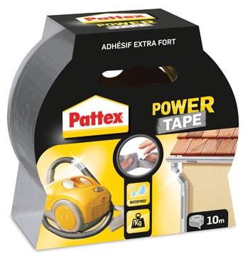 Pattex plakband Power Tape lengte: 10 m, grijs