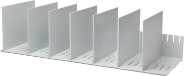 Paperflow sorteervak met 10 verstelbare tussenschotten, breedte 80,2 cm