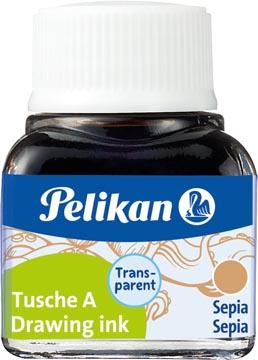 Pelikan Oost-Indische inkt sepia, flesje van 10 ml