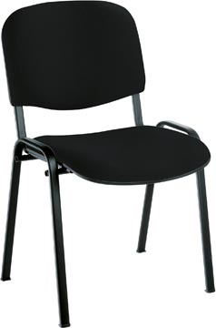 EOL bezoekersstoel Anthra+, bondaï stof