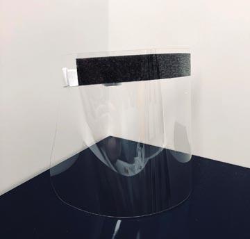 Exacompta individueel beschermend vizier, glashelder, ft 31,5 x 19,5 cm