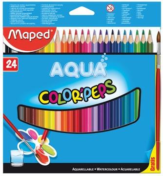 Maped Aquarelpotlood Color'Peps Aqua 24 potloden