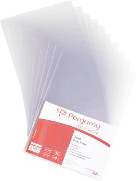 Pergamy U mapje, ft 15 x 21 cm, in PVC 15/100ste, 10 stukS
